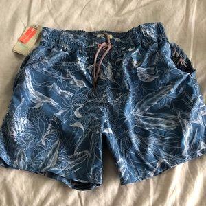 NWT Maaji Mens Swim Shorts L reversible